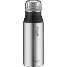 alfi ElementBottle Drinkfles 600ml zwart/zilver
